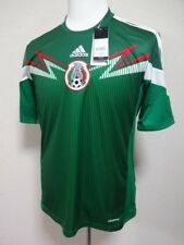 Mexico 100% Original Soccer Football Jersey 2014 World Cup Home M NEW [R212]