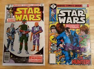 1980 Star Wars #42 First Boba Fett 1st app PLUS #16 First Valance 1978 comic lot