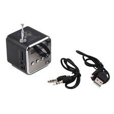 Nice Portable Micro SD TF USB Mini Stereo Speaker Music Player FM Radio PC UL
