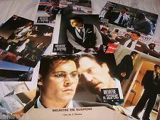 Johnny Depp MEURTRE EN SUSPENS ! jeu 12 photos cinema lobby cards