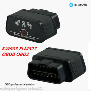 ELM327 OBD2 KW901 Auto Car Fault Code Reader Diagnostic Scanner Tool For Android
