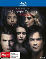 Vampire Diaries The Complete Series Season 1+2+3+4+5+6+7 Blu Ray Box Set RB