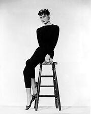 Clásico enmarcado impresión-Audrey Hepburn Hollywood Actriz (Imagen Arte Cartel)
