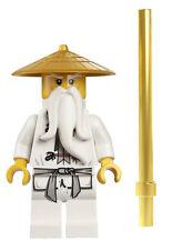 NEW LEGO NINJAGO SENSEI WU MINIFIG figure 9450 70505 master minifigure