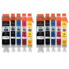 10 Ink Cartridges (5 Set) for Canon PIXMA iP7200 iX6850 MG5650 MG6650 MX725