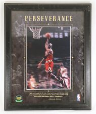 Michael Jordan 1997 Upper Deck PERSEVERANCE Framed Photo NBA w/ Packaging