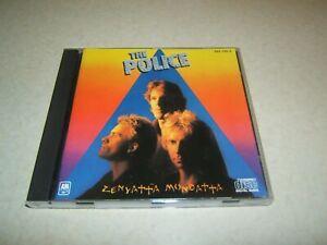 THE POLICE : ZENYATTA MONDATTA     CD ALBUM A&M