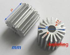 5pcs Mini size 1W Watt LED Aluminium Heatsink long Round