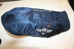 Alpha Industries MA-1 Dog 163901/07 Repl. Blue Jacket Bomber Blue