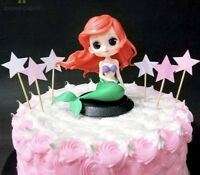 ARIEL Disney Princess PVC Figure Cake Topper Collection Toy Doll LITTLE MERMAID