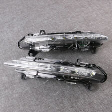Pair LED DRL Daytime Running Fog Light Left + Right Fits MERCEDES S-Class W221