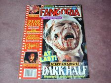 FANGORIA # 121, The Dark Half, Warlock, Army of Darkness, Free shipping USA