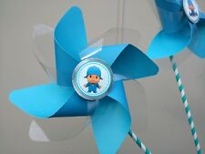 pocoyo  paper pinwheels  10 pcs  favors Party Deco centerpiece birthday