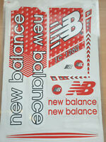 NEW BALANCE TC 1260 RED/WHITE CRICKET BAT STICKERS. BUY ONE GET ONE FREE
