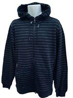 NEW Vintage NIKE 6.0 Cotton Fleece Hoodie Jacket Full Zip Claret M