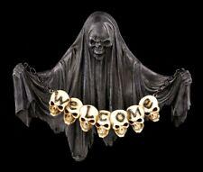 Grim Reaper Letrero Para Puerta Lost Souls Welcome Demonios Figura De Halloween