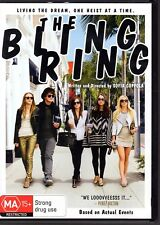 THE BLING RING - DVD R4  (2013) Emma Watson LIKE NEW - FREE POST