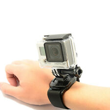 360 Rotated Hand Wrist Strap Belt Mount For GoPro Hero 2 3 3+ 4 5 SJ4000 Xiao Yi