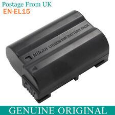Genuine Original Nikon EN-EL15 Battery for MH25 D7000 V1 D600 D800 D800E MB-D14