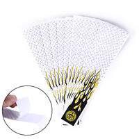 12pcs white & black arrow wraps for fletching carbon fiberglass arrow HF