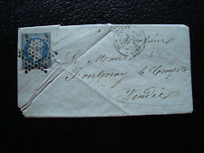 France - Letter 1854 (cy34) French (yt N° 10)