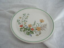 C4 Pottery Barratts Spring Flowers Side Plate 17cm 3C6A Crazed