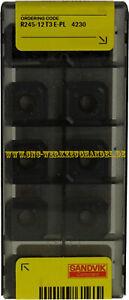 10x Sandvik R245-12T3E-PL 4230 für Stahl  Neu mit Rechnung