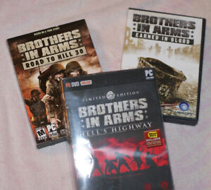 Brothers in Arms: Hell's Highway, Earned in Blood, Road to Hill 30 PC
