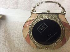 Vintage Sheffield Home Metal Handbag Shaped Freestanding 3 X 3 PhotoFrame.