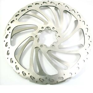 """New Hayes Bicycle Disc Brake Replacement Rotor Wave V shape with bolts 7"""" 180mm"""
