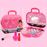 Kids Girls Pretent Play Cosmetic Makeup Set Kit Eco-friendly Princess Toy Gift