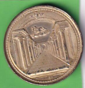 Freimaurer Brandenburg-Preußen versilberte Medaille (Beyenbach Wiesbaden)