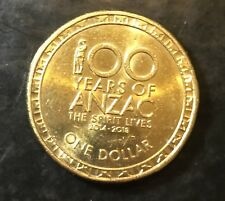 2017 100 YEARS OF ANZAC  (unknown Of Mintage) AUSTRALIAN DECIMAL COIN