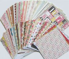 NEW SET!  MY MIND'S EYE [200 SHEETS & 10 DIE CUTS] PAPER  (SET D) - (Save 85%)