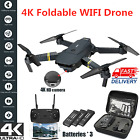 4K HD Drone X Pro WIFI FPV Camera High Hold Mode Foldable Arm Quadcopter Drone