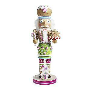 Kurt Adler Hollywood Decorative Gingerbread House and Gingerbread Nutcracker
