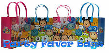 30 pcs Disney Tsum Tsum Party Favor Bags Candy Treat Birthday Gift Toy Sack Bag