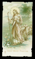 antico santino cromo-holy card ediz.AR n.808 GESU' BUON PASTORE