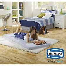 Simmons Beautysleep Siesta Twin Memory Foam Guest Roll-Up Mattress Bed