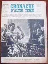 CRONACHE D'ALTRI TEMPI - N.128, 1964_Tavole di Fani del Viaggio a Gerusalemme*