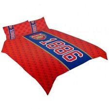 Arsenal FC 1886 Official Football Soccer Club Team Double Duvet Set Bed Cover