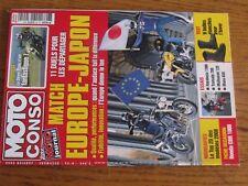 $$$ Revue Moto Conso N°24 Europe-JaponStreet TripleBottes etanchesCBR 1000