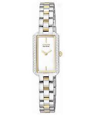 Citizen Eco-Drive Womens Silhouette Watch EG2784-58A Retail $300 NEW!!
