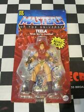 "MASTERS OF THE UNIVERSE TEELA 5.5"" ACTION FIGURE SIGNED KEVIN SMITH MATTEL"