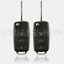 2 Car Key Fob Keyless Remote For 2004 2005 2006 2007 Volkswagen VW Touareg