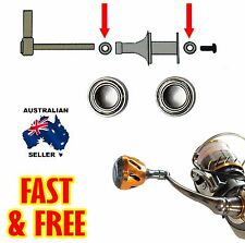 4x7x2.5 Stainess Steel High Speed Bearing for Daiwa Type S Fishing Reel Handle 8