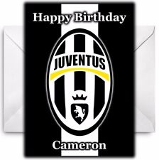 JUVENTUS FC Personalised Birthday / Christmas / Card - Large A5