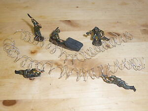 1/72 SCALE COILED BARBED WIRE 12inch/30cm (2 x15cm) LENGTHS FOR DIORAMAS &GAMING