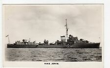 HMS JERVIS: Naval shipping postcard (C6889).