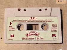 Worlds of Wonder Talking Mother Goose Shoemaker & The Elves Cassette Tape